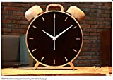 ASIBG Home Fashion Quartz Wall Clockhome Living Room Decoration,A,