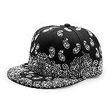 Unisex Snapback Hiphop Hat Adjustable Baseball Cap