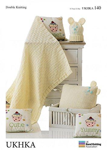 Tejer Ropa De Patrones para tejer manta de bebé, Cojín y ...