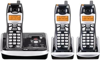 General Electric GE 25952EE3 - Sistema de teléfono inalámbrico con contestador automático (5,8 GHz, 3 teléfonos): Amazon.es: Electrónica