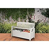 Keter 60 Gallon Storage Bench and Tool Box