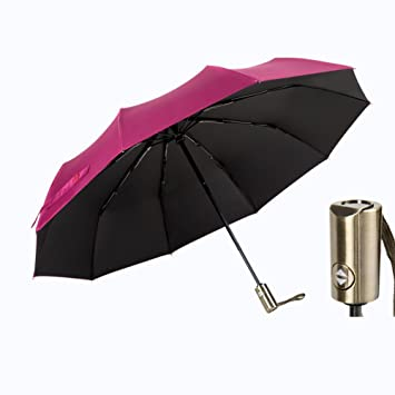 Color : Blue Qeeuanl Sun and Rain Pocket Sun Umbrella Sun Protection UV Umbrella Umbrella Folding Umbrella Female Ultra Light Compact Portable