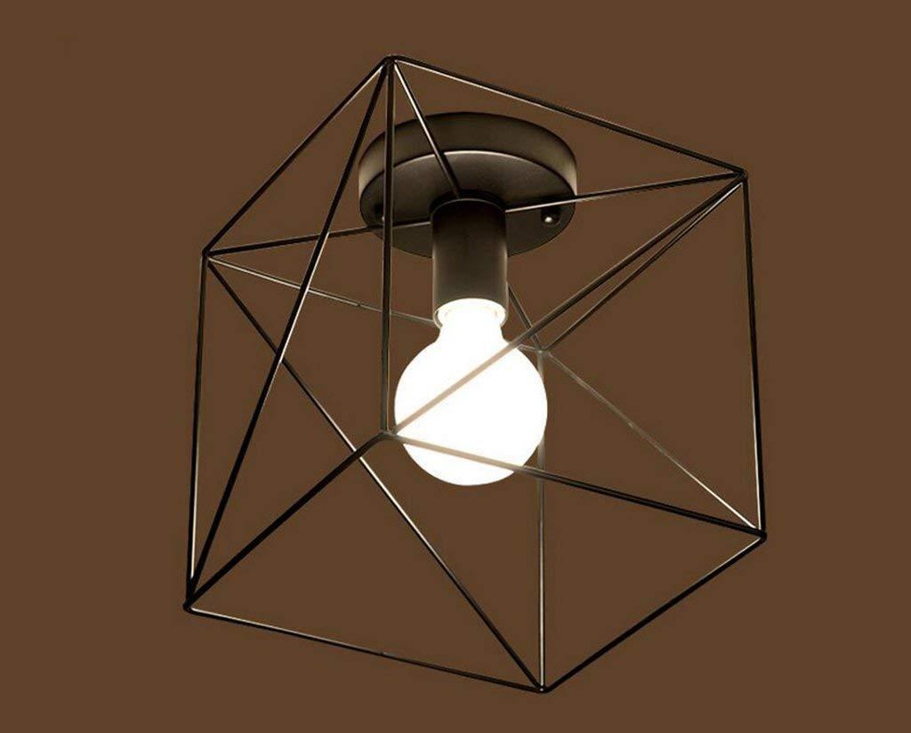 IG Haushalt , Möbel Deckenleuchte Stil Retro Industrielle Geometrische Lampen Balkon Eisen Kunst Korridor Deckenleuchten