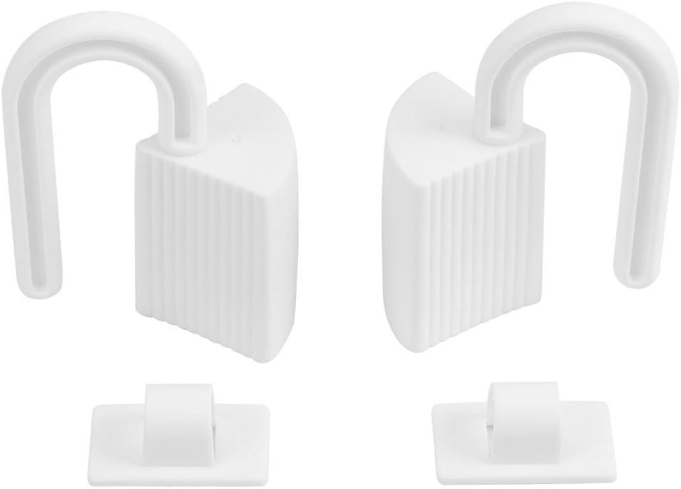Tapón de la Puerta Bebé Seguridad Finger Pinch Guard Child Proofing Home Shield para Lado Trasero de la Puerta Prevenga las Lesiones Relacionadas con la Puerta(2 unids ) (#1)