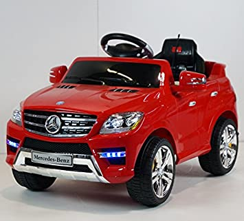 Amazon Com Mercedes Kids Ride On Car Toy Electric Car With