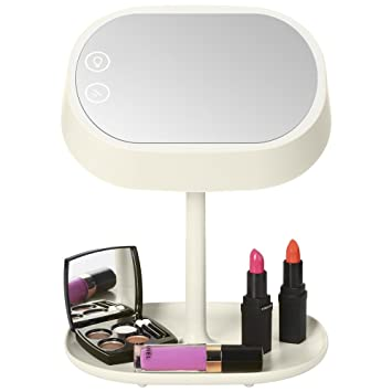 Amazon.com: AccMart Lighted Makeup Vanity Mirror with Table Lamp ...