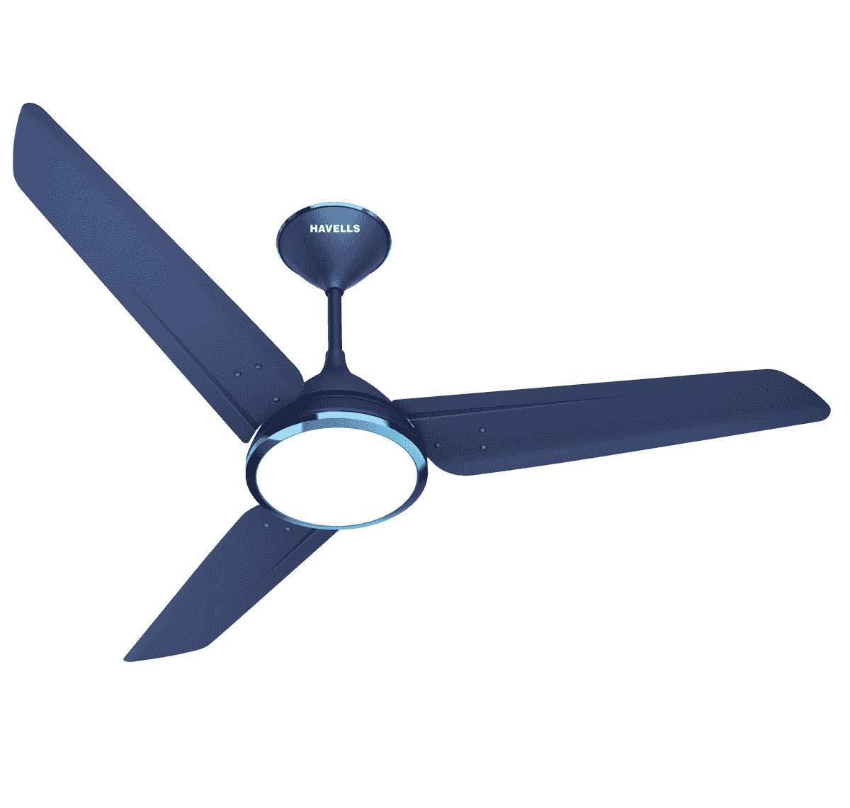 Havells Lumeno 1320mm Ceiling Fan (Indigo Blue)