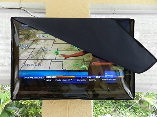 invisible clear waterproof outdoor cover fits most swing arm mount many sizes color navy tv cabinet wood enclosure best buy plans furniture