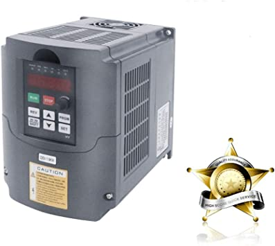 HY 1.5KW 220V Inverter VFD Variable Frequency Drive Speed Control+extension wire