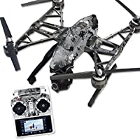 MightySkins Protective Vinyl Skin Decal for Yuneec Q500 & Q500+ Quadcopter Drone wrap cover sticker skins TrueTimber Viper Urban