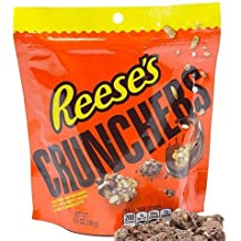 Reese's Crunchers Mini Peanut Butter Chips in Milk Chocolate 6.5 oz. (Pack of 2)