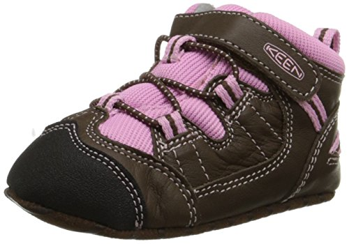 KEEN Targhee Crib Shoe (Infant), Cascade Brown/Lilac Chiffon, 0-6 Months M US Infant Chiffon Cascade
