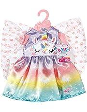 Baby Born Sprookjes Outfit voor Poppen van 43 cm - Eenhoorn, Regenboog & Sprookjesvleugels Design- Ideaal voor Kinderhandjes, Bevordert Creativiteit, Empathie & Sociale Vaardigheden, Vanaf 3 Jaar