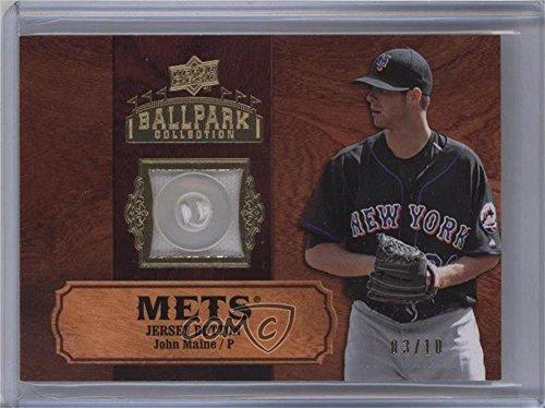 John Maine #3/10 (Baseball Card) 2008 Upper Deck Ballpark...