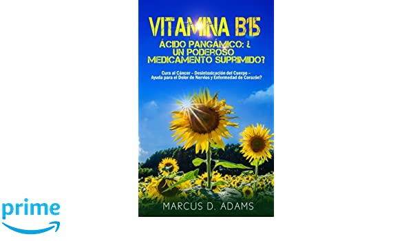Vitamina B15 - Ácido Pangámico: ¿Un poderoso medicamento suprimido?: Cura al Cáncer - Desintoxicación del Cuerpo - Ayuda para el Dolor de Nervios y ...
