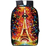Kid's Backpack Waterproof School Bookbag Travel Bag for Girls and boys (Red)