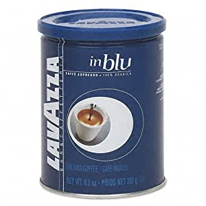 Lavazza : Blue Ground Espresso Coffee, 8.8oz Can -:- Sold as 2 Packs of - 1 - / - Total of 2 Each