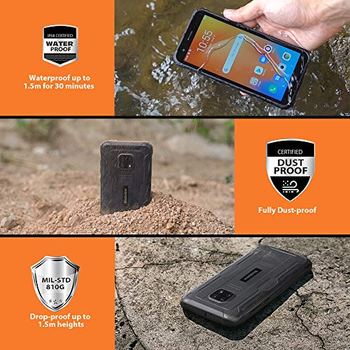 Blackview BV4900 Téléphone Portable Incassable,Écran 5,7' Batterie 5580mAh, Charge Inverse, Smartphone IP68 Étanche… 3