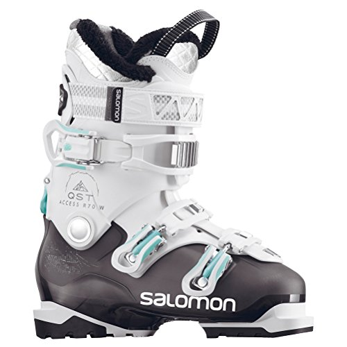 Salomon QST Access R70 W Womens Ski Boots - 26.5/Anthracite Translucent-White ()