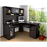 Cabot Collection L-Desk and Hutch
