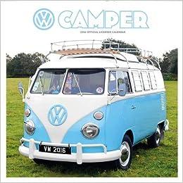 Official VW Camper Vans 2016 Mini Calendar Amazoncouk Danilo 9781780549118 Books