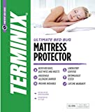 TERMINIX Ultimate Mattress Protector - 6-Sided Water-Resistant Zippered Encasement Blocks Bed Bugs, Dust Mites, Insects, & Allergens - Machine Washable - Lifetime Warranty - up to 17'' - (Cal King)