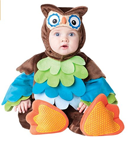 GN Netcom GNG Infant/Baby/Toddler-Unisex - Owl - Cutie Spooky Hoot! Halloween Costume (Small (6 To 12 Months)) ()