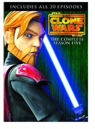 Star Wars - The Clone Wars - Season 5 Edizione: Regno Unito Italia DVD: Amazon.es: Cine y Series TV