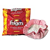 SCS Folgers - Classic Roast Ground Coffee Filter Packs, 0.9 Oz - 40 Ct. (2)