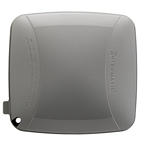 Intermatic WP5500G Extra Duty Plastic Weatherproof Cover 4.75-Inch Double Gang, Grey by Intermatic