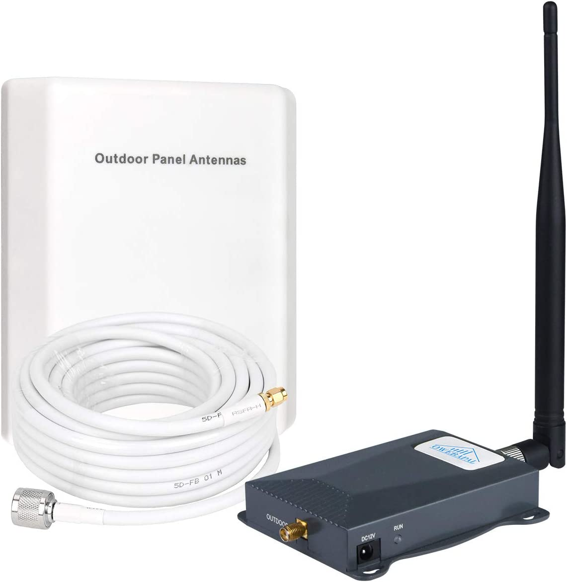 AT&T Cell Phone Signal Booster 4G LTE Cell Phone Booster 700Mhz ATT T-Mobile Cell Booster Band 12/17 ATT Cellular Signal Amplifier Home Use Mobile Phone Signal Booster Repeater