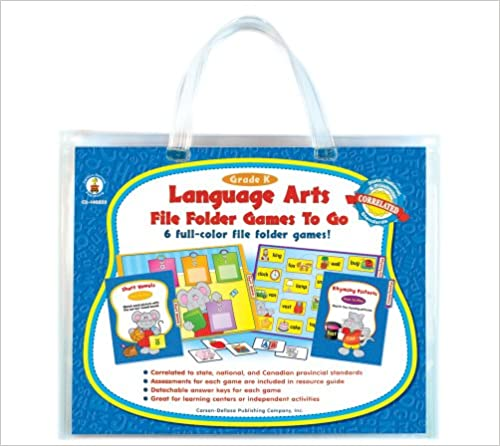 Download Language Arts File Folder Games to Go®, Grade K PDF