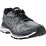 ASICS Men's Gel-Nimbus 20 Running Shoe, Carbon/Black/Silver, 6.5 Medium US