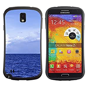 Suave TPU GEL Carcasa Funda Silicona Blando Estuche Caso de protección (para) Samsung Note 3 / CECELL Phone case / / Blue Ocean /