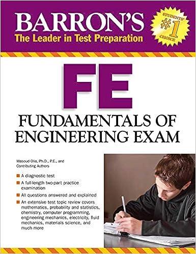 Barron's FE Exam: Fundamentals of Engineering Exam (Barron's Fe