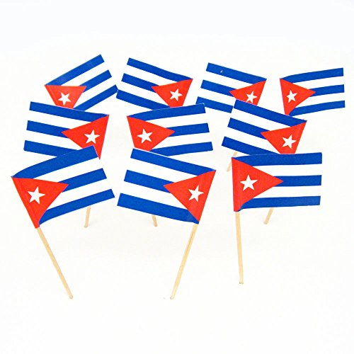 Cuba Cuban Flag Toothpicks 100 product image