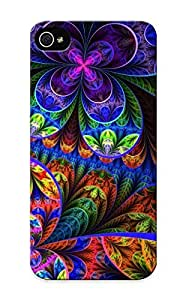 LOiDVRQ1125oquQt Chapiterq Awesome Case Cover Compatible With Iphone 5/5s - Abstract Multicolor Fractals Psychedelic Artwork