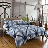 Newport Creek Pier Blue and White Double BedSet 200 x 200cm (1 x Duvet Cover + 2 Pillowcases) by Newport Creek