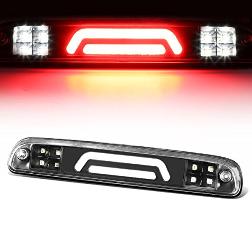 For B-Series/F-Series/Ranger 3D LED Light Bar Third Tail Brake Lamps (Black Housing/Clear Lens) 11th 12th