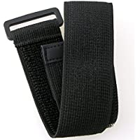 eForCity Velcro Armband for all Models of iPod with Silicone or Leather Case with Armband Slots (Black)