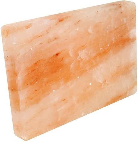 Rocking Salt Himalayan Natural Crystal Salt Cooking Tile with Free Recipe Guide Included, 8