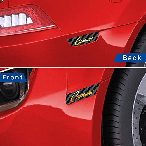 IPG for 2010-2015 Camaro Front & Rear Side Marker RS Carbon Fiber Vinyl kit 4 Units Set (Black Carbon Fiber Camaro)