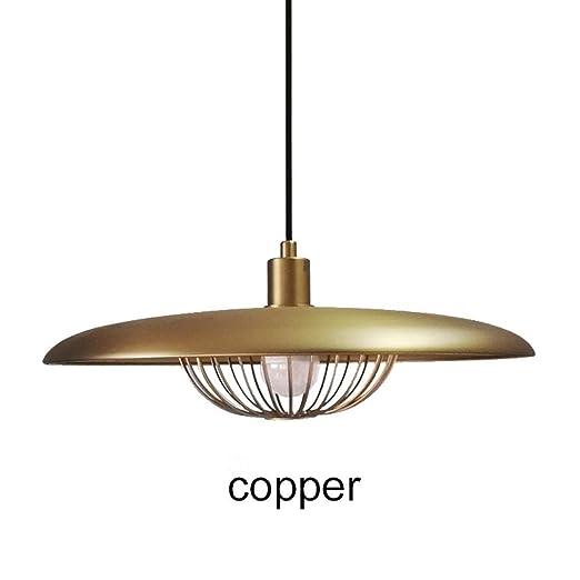 HDDK Lámpara colgante LED industrial vintage con lámpara de luz de ...