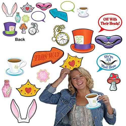 Beistle Alice In Wonderland Photo Fun Signs