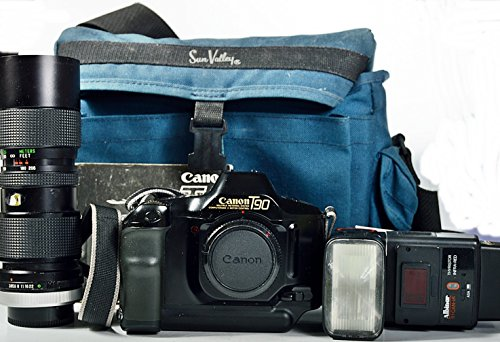 Canon T90 SLR Film Camera Body & Lens Kit