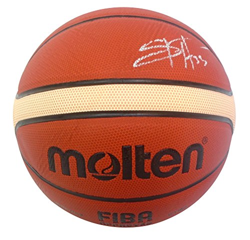 Team USA Seimone Augustus Autographed Hand Signed FIBA Molten Basketball with Exact Proof Photo of Signing and COA, Minnesota Lynx, LSU Louisiana State University Tigers
