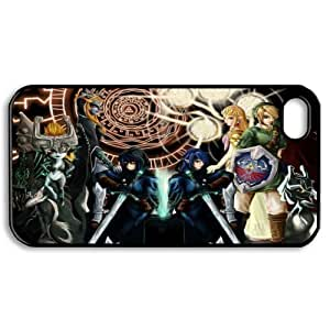 Hanifa Dirar Hadad's Shop 4473618M12887456 Game Series Drm-6 The legend of zelda Print Black Case With Hard Shell Cover for Apple iPhone 5/5S
