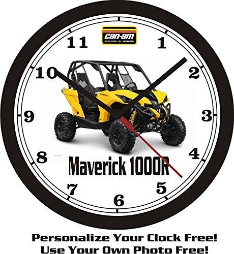 2013 Can-Am Maverick 1000R Wall Clock-Free USA Ship!