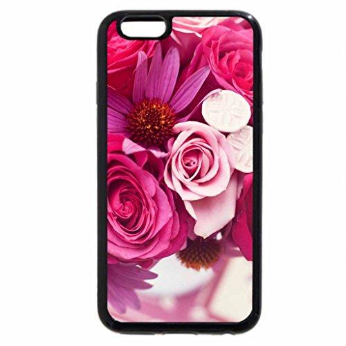 iPhone 6S / iPhone 6 Case (Black) Munster Rose