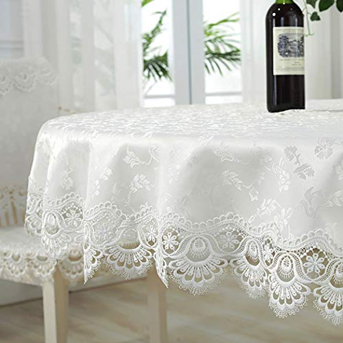 Lace Round Tablecloth - Asunflower Tablecloth Round 70